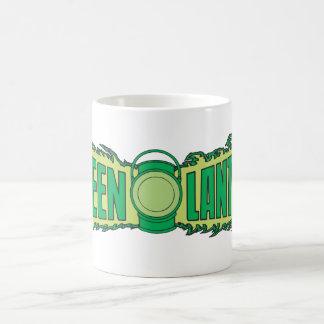 Green Lantern Letters 1 Coffee Mug