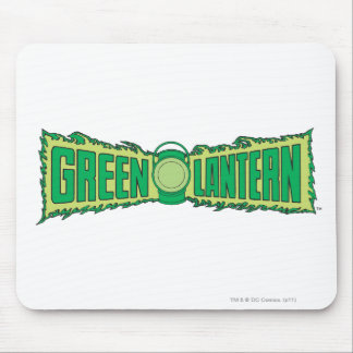 Green Lantern Letters 1 Mouse Mat