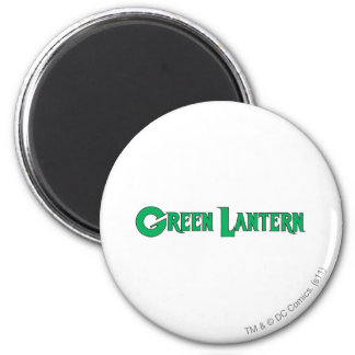 Green Lantern Letters 2 6 Cm Round Magnet