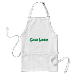 Green Lantern Letters 2 Standard Apron