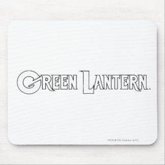 Green Lantern Logo 10 Mouse Mat