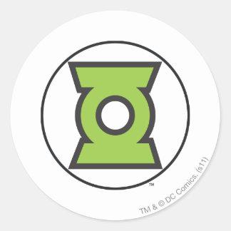 Green Lantern Logo 11 Classic Round Sticker