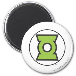 Green Lantern Logo 11 6 Cm Round Magnet