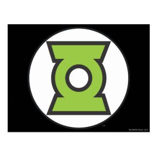 Green Lantern Logo 11 Postcard