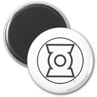 Green Lantern Logo 12 6 Cm Round Magnet