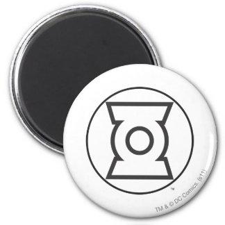 Green Lantern Logo 12 Fridge Magnet