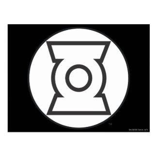 Green Lantern Logo 12 Postcard