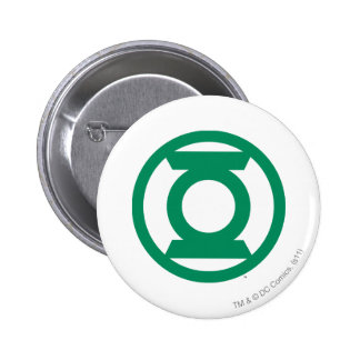 Green Lantern Logo 13 6 Cm Round Badge