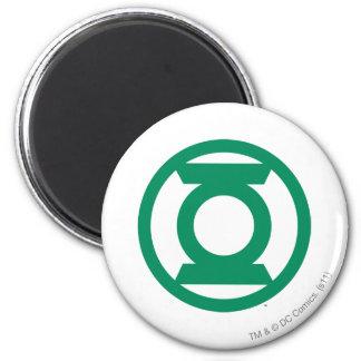 Green Lantern Logo 13 6 Cm Round Magnet