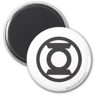 Green Lantern Logo 14 6 Cm Round Magnet