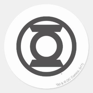 Green Lantern Logo 14 Classic Round Sticker