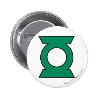 Green Lantern Logo 15 6 Cm Round Badge