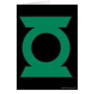 Green Lantern Logo 15 Card