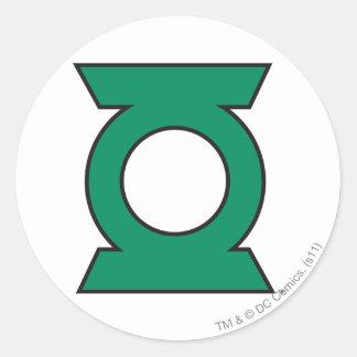 Green Lantern Logo 15 Classic Round Sticker