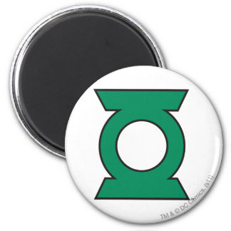 Green Lantern Logo 15 Fridge Magnets
