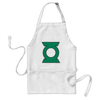 Green Lantern Logo 15 Standard Apron