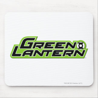 Green Lantern Logo 2 Mouse Mat
