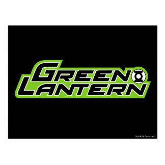Green Lantern Logo 2 Postcard