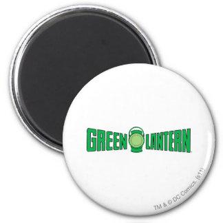 Green Lantern Logo 5 Fridge Magnets