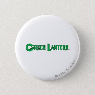 Green Lantern Logo 9 6 Cm Round Badge