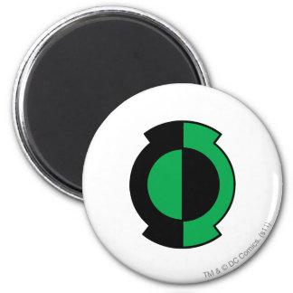 Green Lantern Logo Flipped 6 Cm Round Magnet
