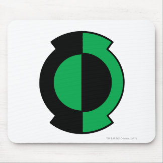 Green Lantern Logo Flipped Mouse Mat