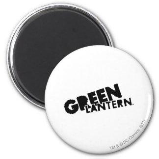 Green Lantern Logo - Pixels 6 Cm Round Magnet