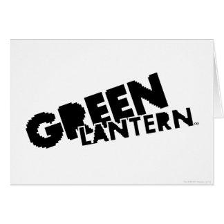 Green Lantern Logo - Pixels Card