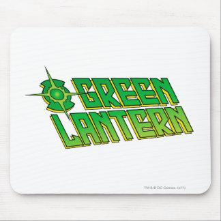 Green Lantern Logo - Slanted Mouse Mat
