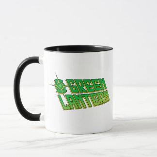 Green Lantern Logo - Slanted Mug