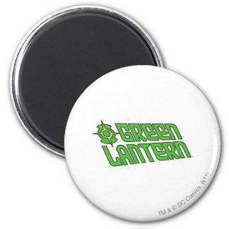 Green Lantern Logo Tilted Magnet
