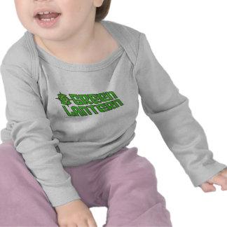 Green Lantern Logo Tilted Tshirt