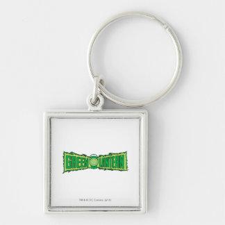 Green Lantern Logo with Lantern Key Ring