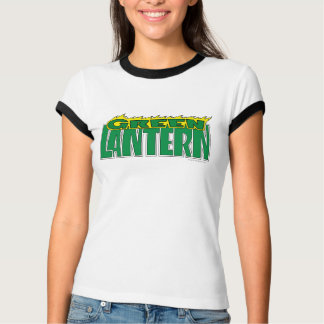 Green Lantern Logo - Yellow Flames T-Shirt