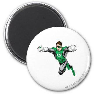 Green Lantern - Looking Forward 6 Cm Round Magnet