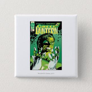 Green Lantern  - Many Rings 15 Cm Square Badge