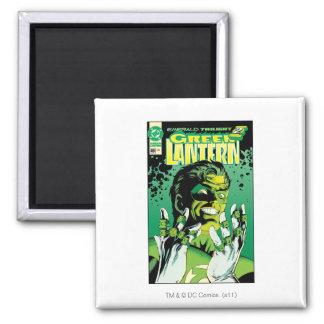 Green Lantern  - Many Rings Square Magnet