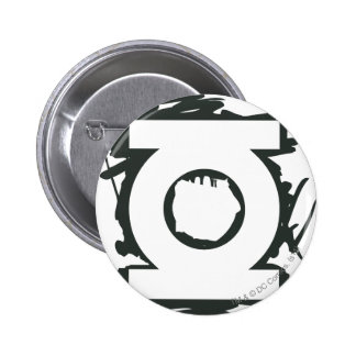 Green Lantern Marker Symbol 6 Cm Round Badge
