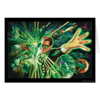 Green Lantern Painting Card