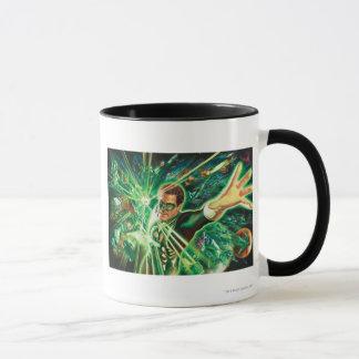 Green Lantern Painting Mug