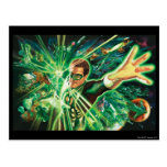Green Lantern Painting Post Card
