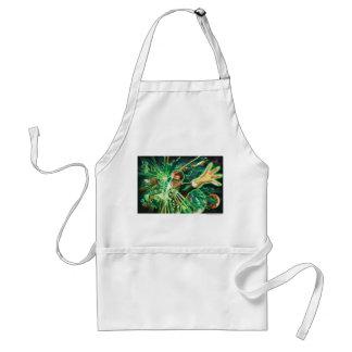 Green Lantern Painting Standard Apron