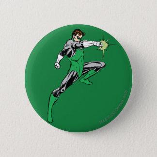 Green Lantern Pointing Ring 6 Cm Round Badge