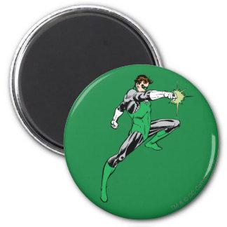 Green Lantern Pointing Ring 6 Cm Round Magnet