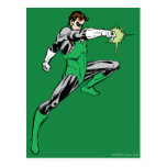 Green Lantern Pointing Ring Post Cards