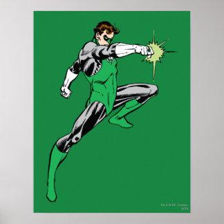 Green Lantern Pointing Ring Poster