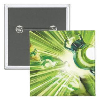 Green Lantern Power 15 Cm Square Badge