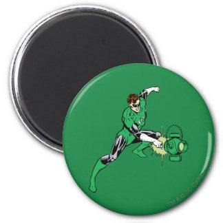 Green Lantern Power 6 Cm Round Magnet