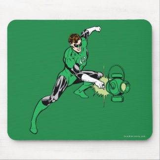 Green Lantern Power Mouse Mat