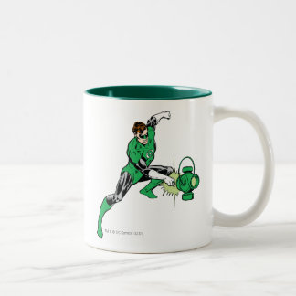 Green Lantern Power Coffee Mugs